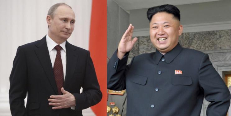 """Résultat de recherche d'images pour """"putin, Kim Jong-un"""""""